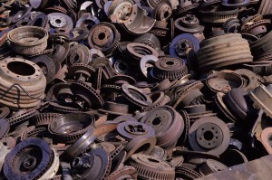 recycling auto parts for scrap metal